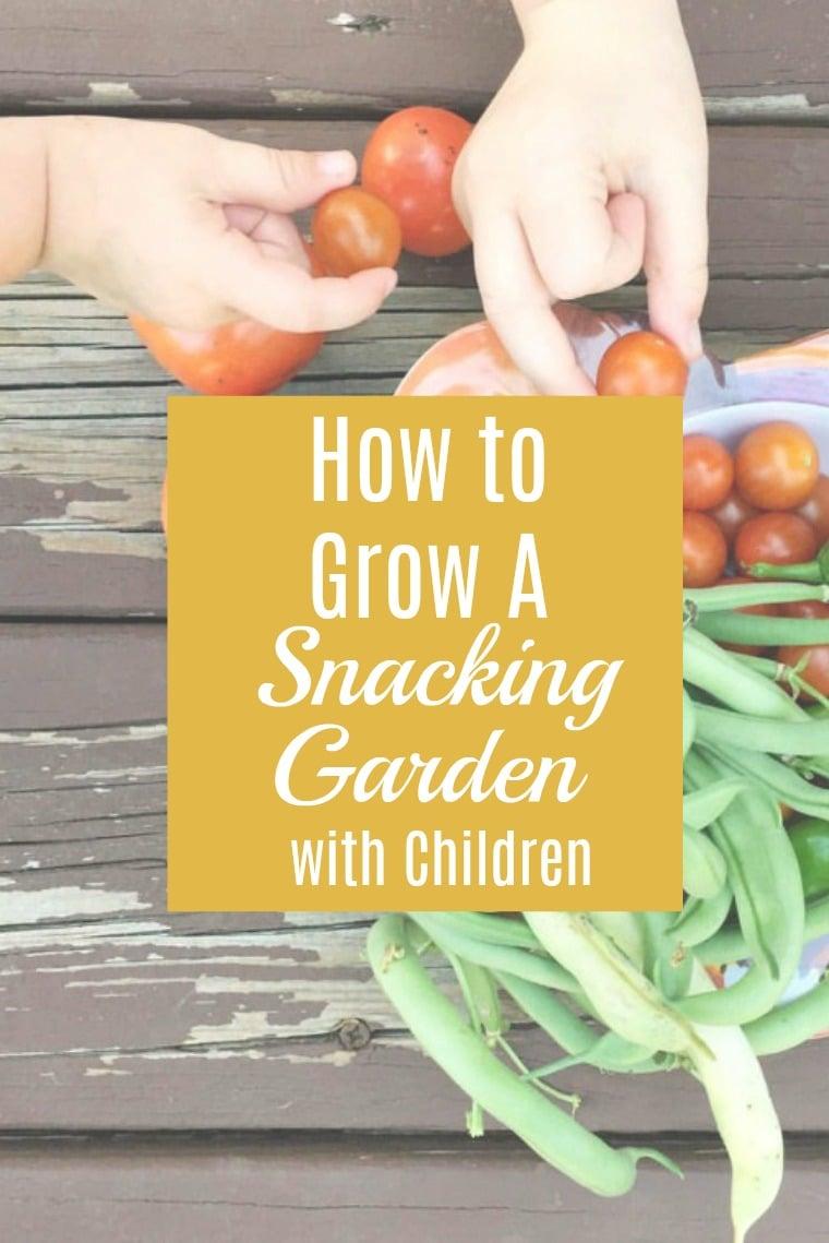 How to garden with children