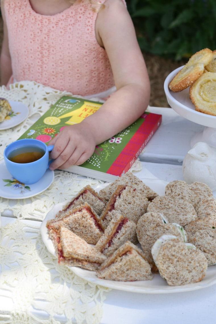 Little Girls Secret Garden Tea Party