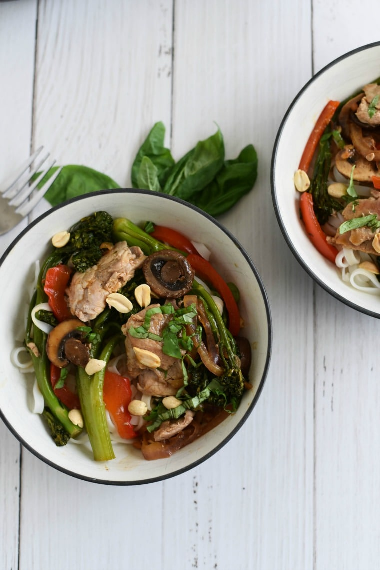 30 minute thai stir fry recipe