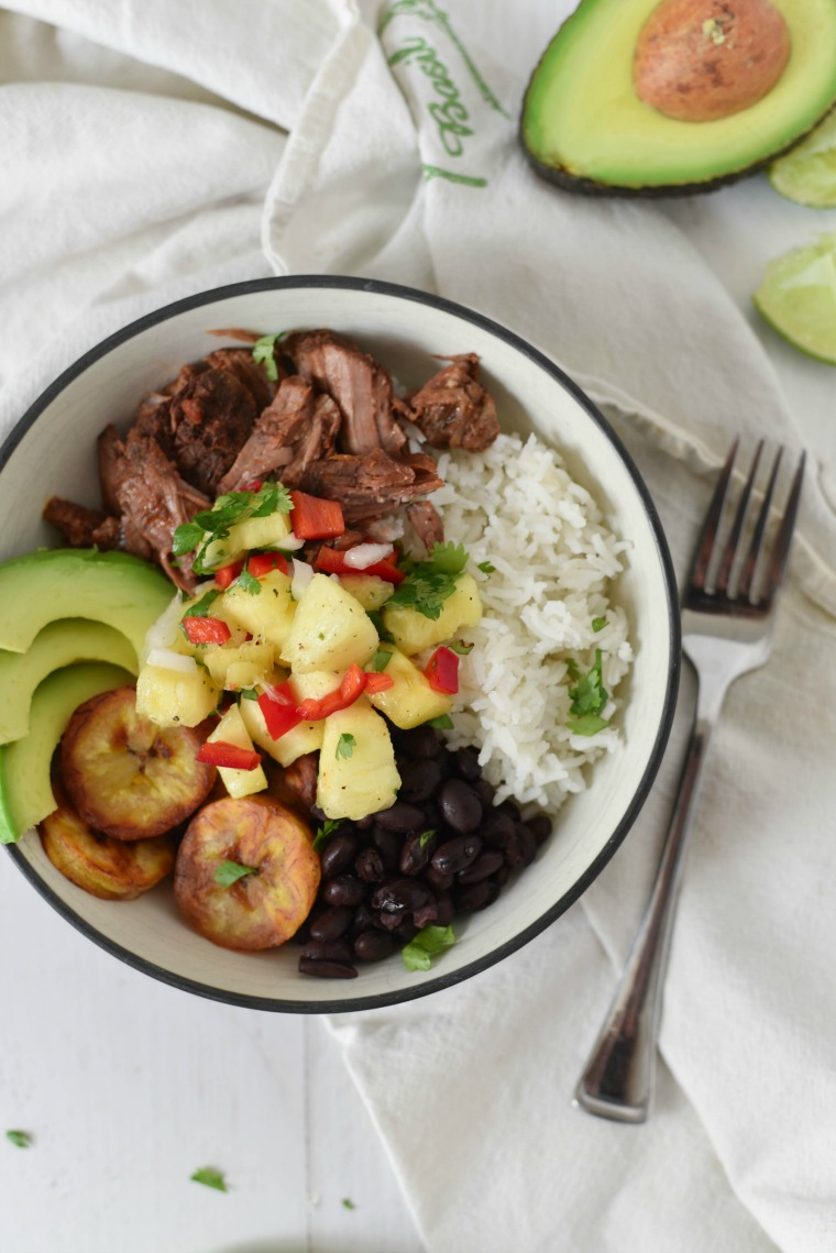 Cuban Beef Bowl
