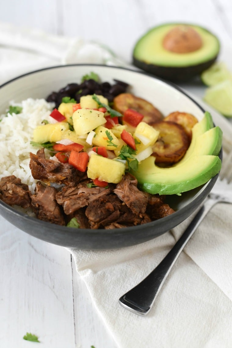 Cuban Beef Bowl for whole family