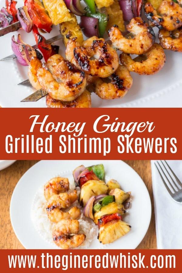 Honey Ginger Grilled Shrimp