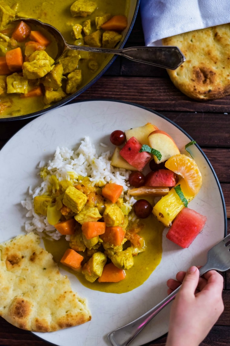 Kid Friendly Curry Recipe