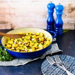 One Pan Persian Turmeric Chicken with Citrus Couscous