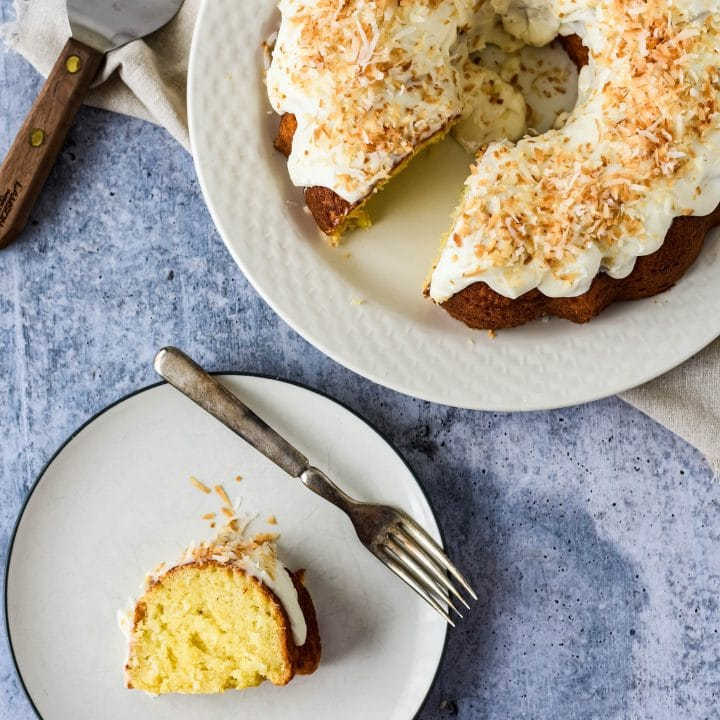Simple Coconut Bundt Cake Recipe