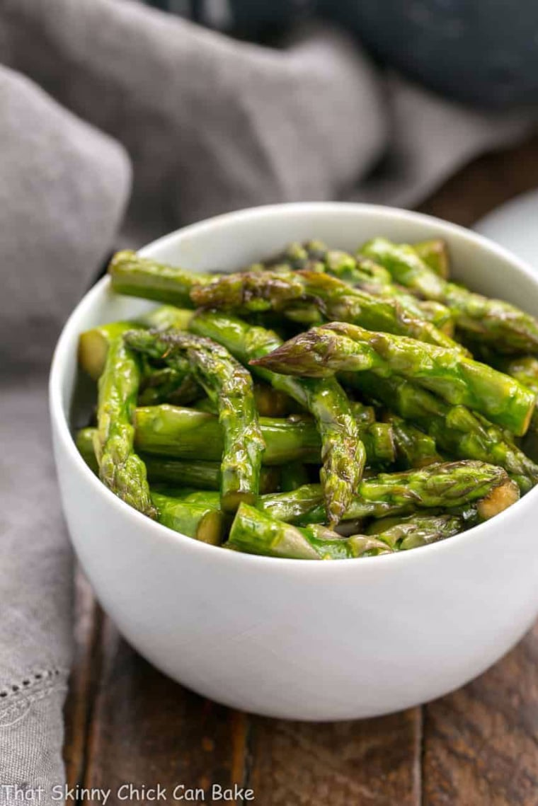 asparagus recipe in bowl