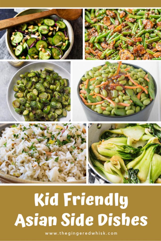 Composite of Asian Side Dish Photos