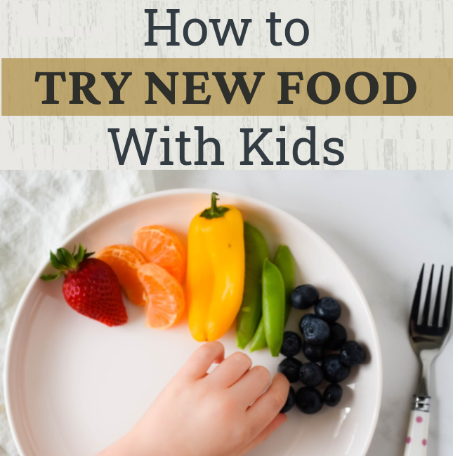 How to Explore the Sense of Taste with Kids