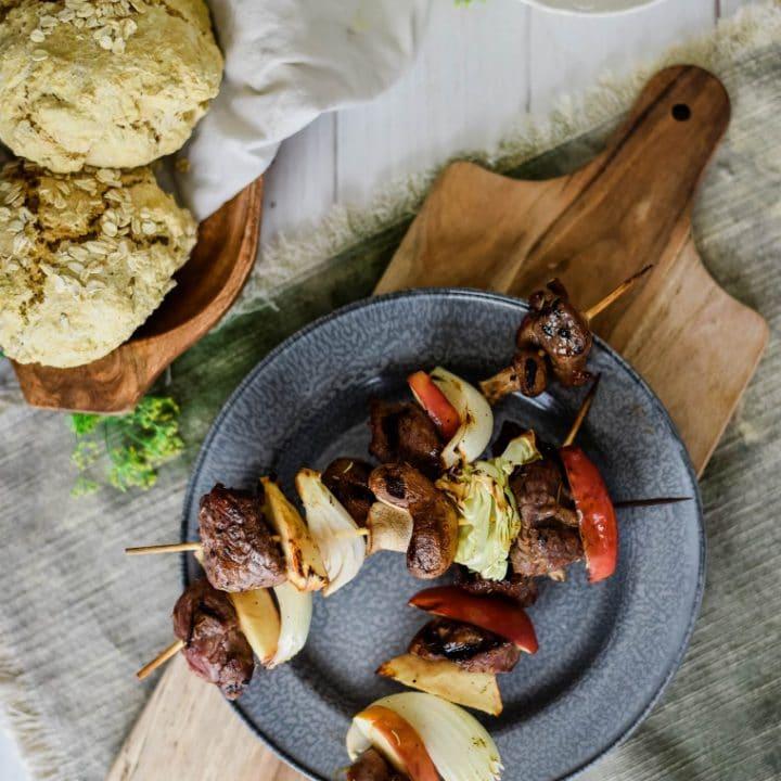 Viking Grilled Lamb Kebab