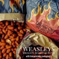 Weasleys' Dragon Roasted Nuts | Harry Potter