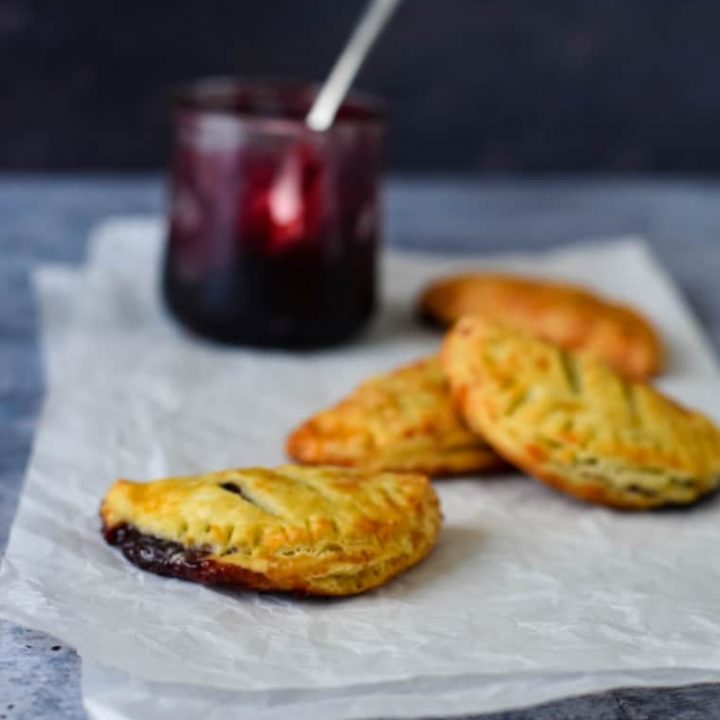 Cheese and Jam Turnovers