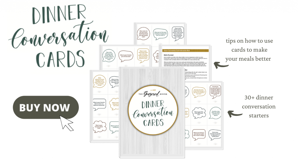 graphic for dinner conversation cards