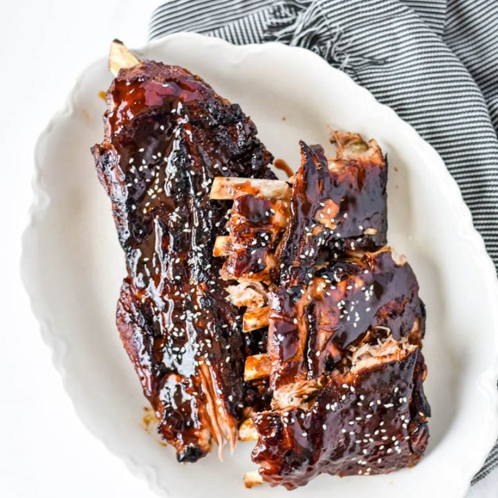 Instant Pot Asian Sticky Ribs