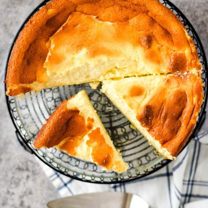 Fromage Blanc Tart Recipe