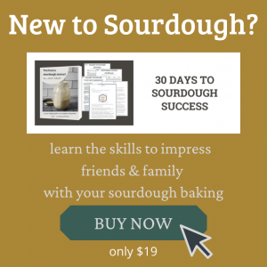 graphic for sourdough course with buy now image