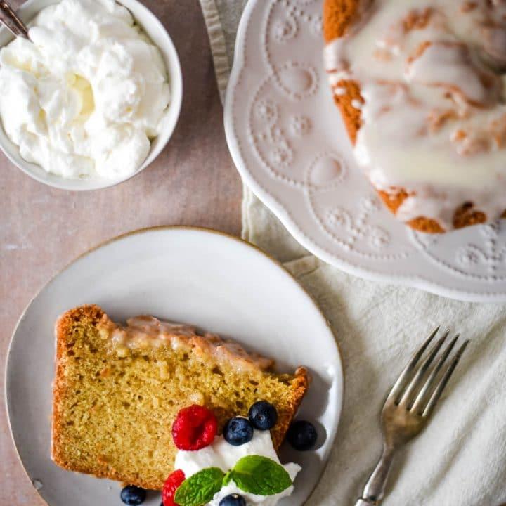 Sourdough Pound Cake Recipe