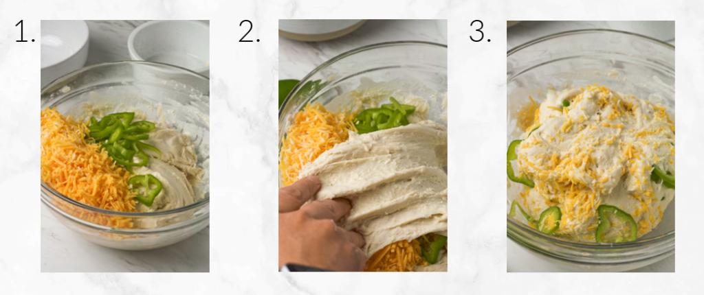 adding mix ins to dough